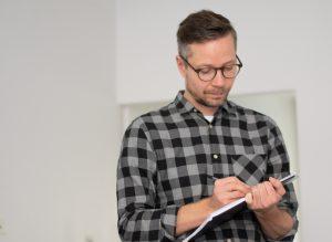 Core's Senior Service Designer Jarkko Kurronen