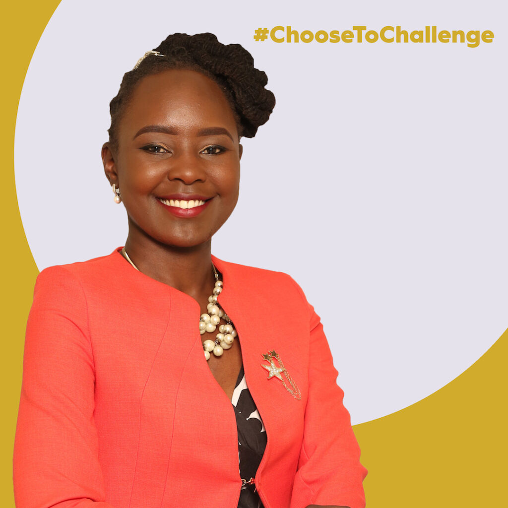 Mercy Korir, a medical doctor and health journalist chooses to challenge the things that have held us back for many years.
